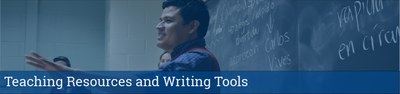 Teaching Resources and Writing Tools