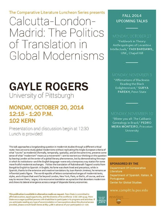 Events Flyer_Gayle Rogers